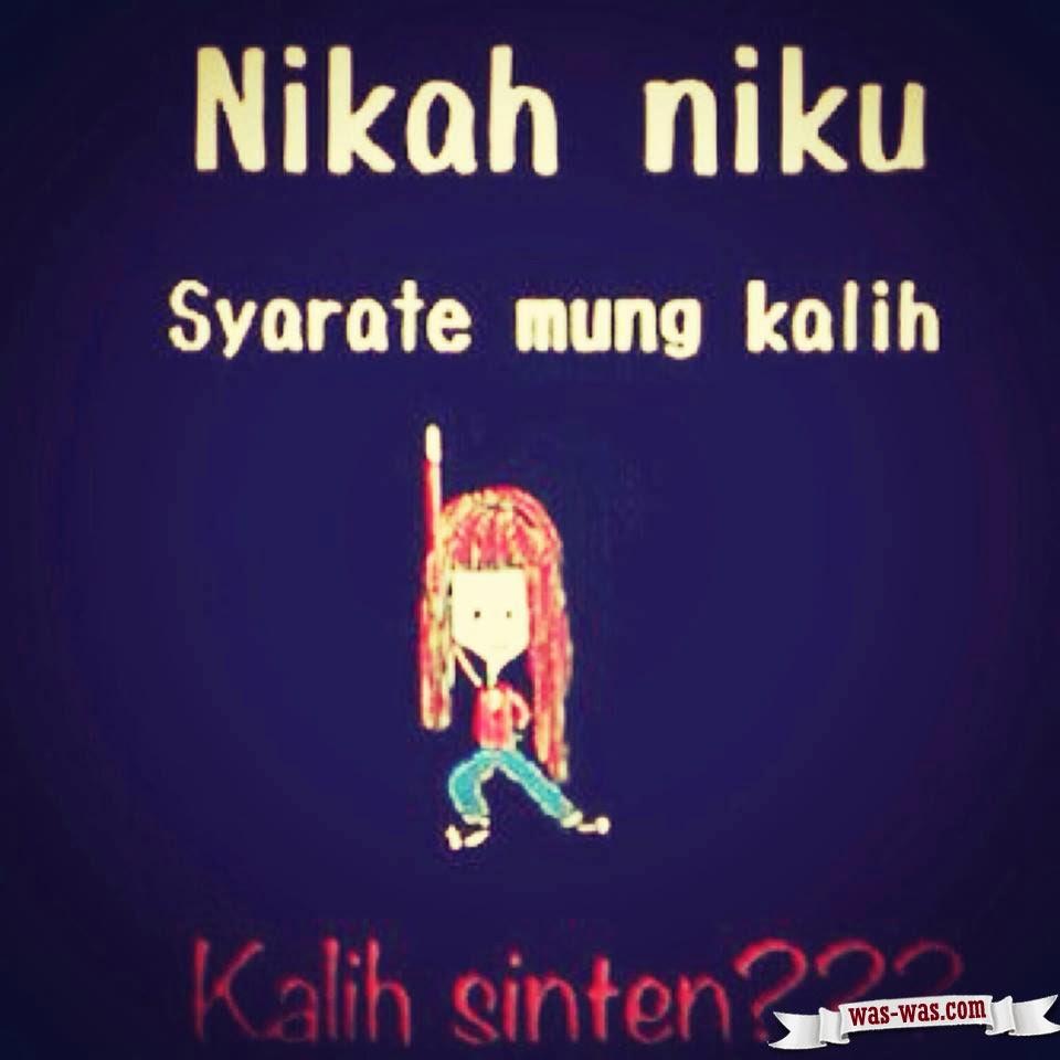 Gambar Lucu Bahasa Jawa Memetsaysdenim